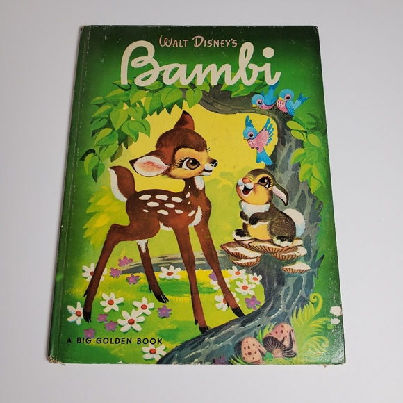 1949 Walt Disney's Bambi Big Golden Book